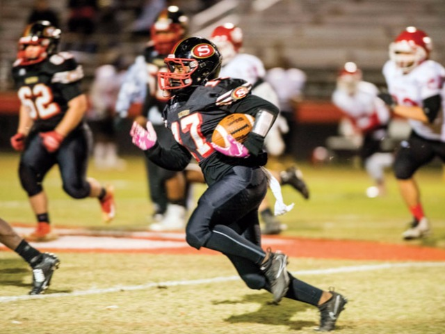 Red Springs' running game ends Salisbury's season
