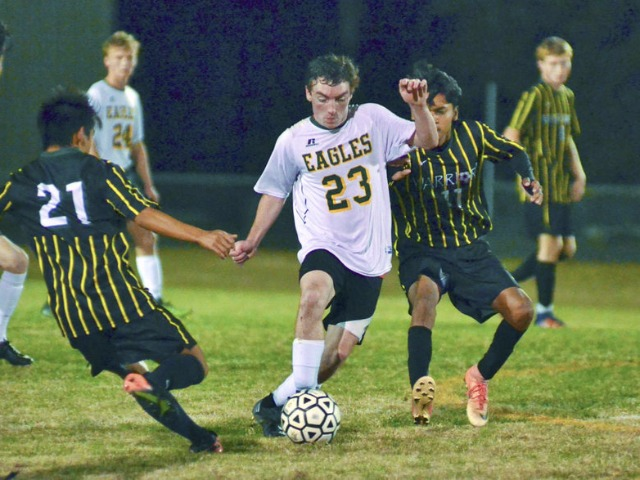 Eagles fall in first round of state playoffs