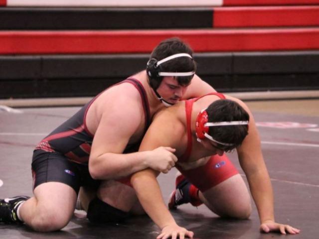 Bulldog wrestlers dominate Inola in dual action