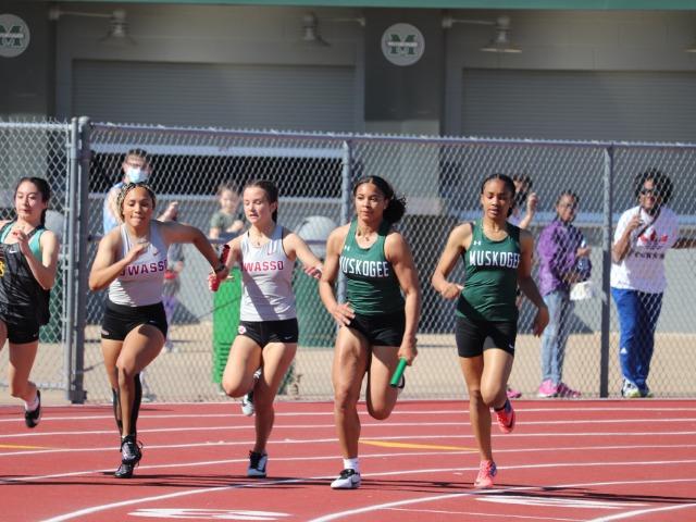 Muskogee Track Qualifies Ten