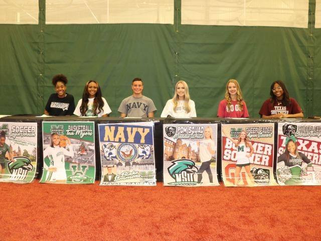 Six Seniors Sign