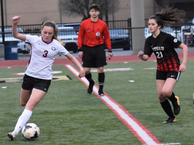 Lady Bulldogs soccer explodes past Poteau, 10-0