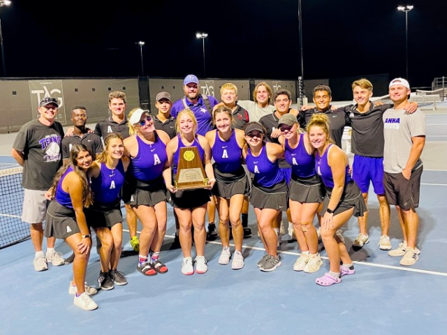 Image for Tennis team clinches District Title