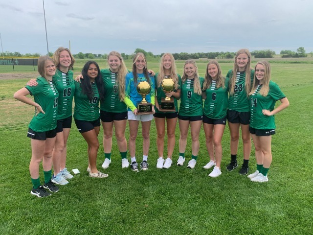 2021-Boys and Girls Golf Teams are District Champions