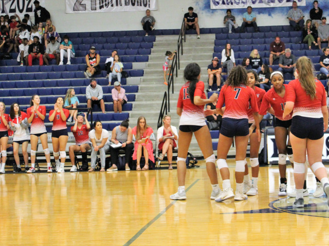 Image for Centennial Volleyball Team Prepares for First Playoff Match