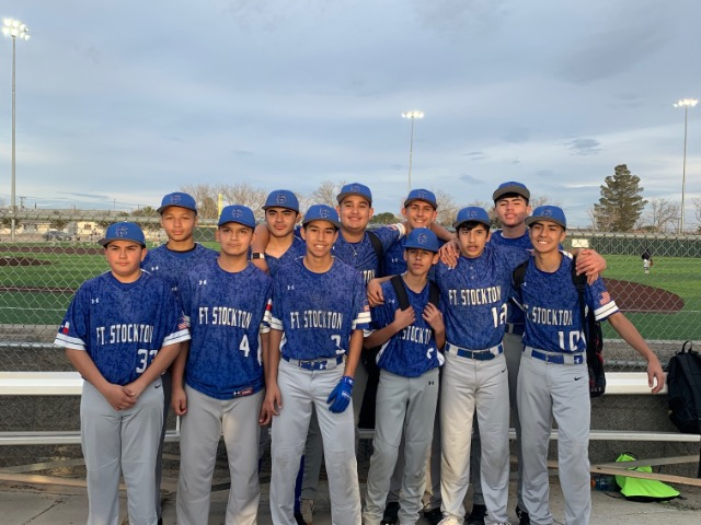 Freshman Baseball Takes 2nd place In Pecos