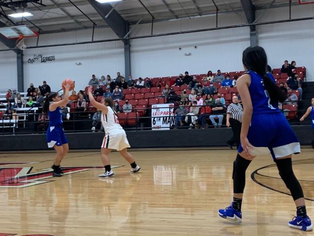 JV Girls Basketball Beat Denver City