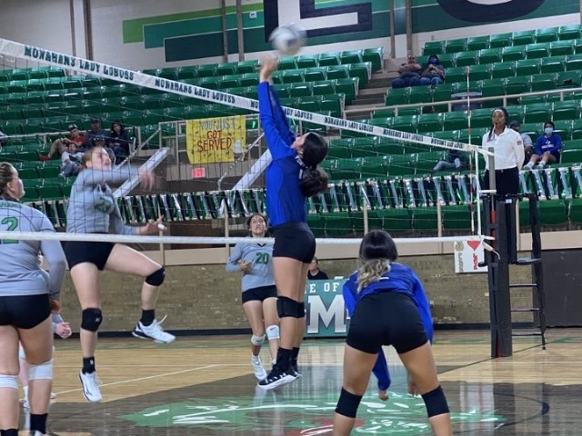 Image for JV volleyball team bested by Monahans
