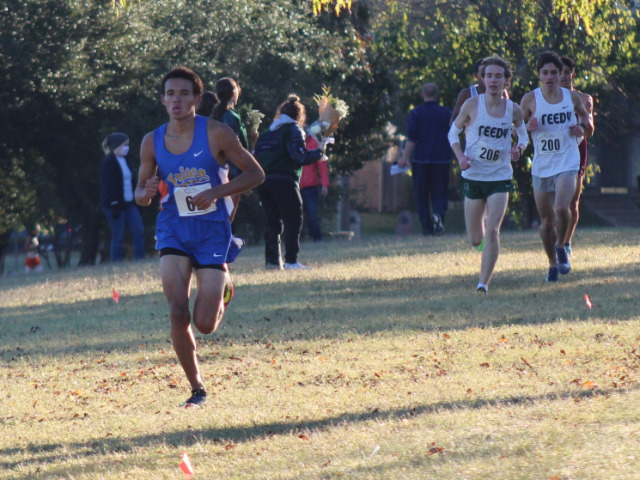 Image for Frisco's Kevin Curry Wins District Cross Country Title