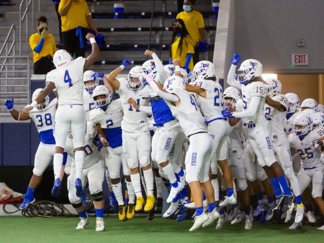 Image for Frisco Football Team Improves to 3-0 with Another Blowout