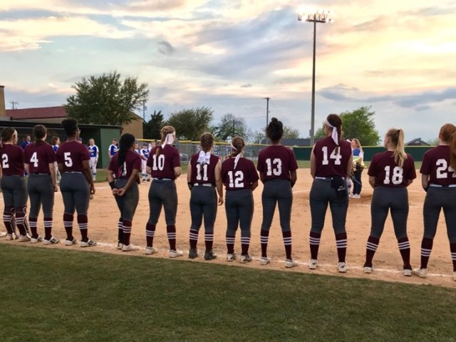 Image for Varsity Softball swings the sticks to defeat Frisco 20-5