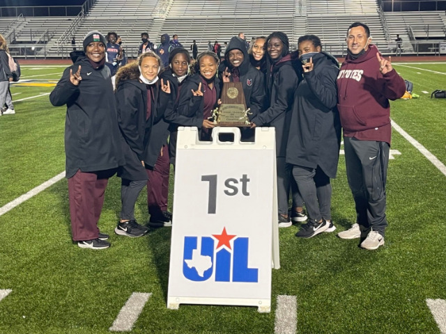 Image for Heritage Girls Win Area Track and Field Team Title