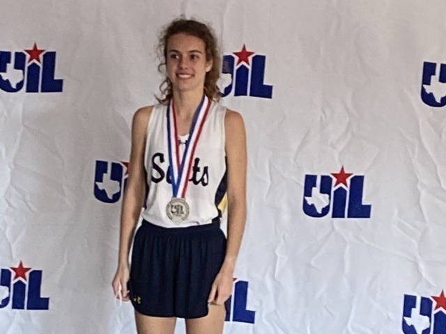Cameron Fawcett Places 2nd and Team Places 5th at the UIL State CC Championship