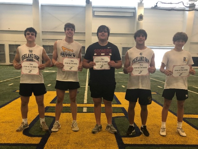Performance Course Stars of the Week - Week 2
