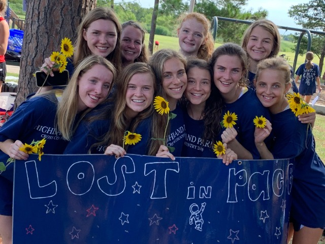 Lady Scots Cross Country Team Competes at the Marcus I Invitational