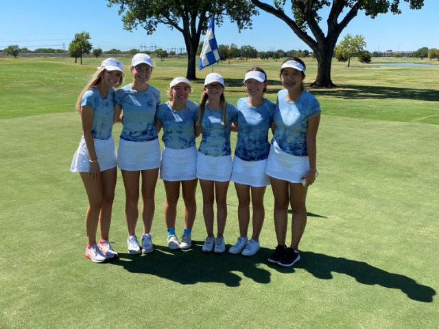 Lady Scots JV Golf Team Places 4th