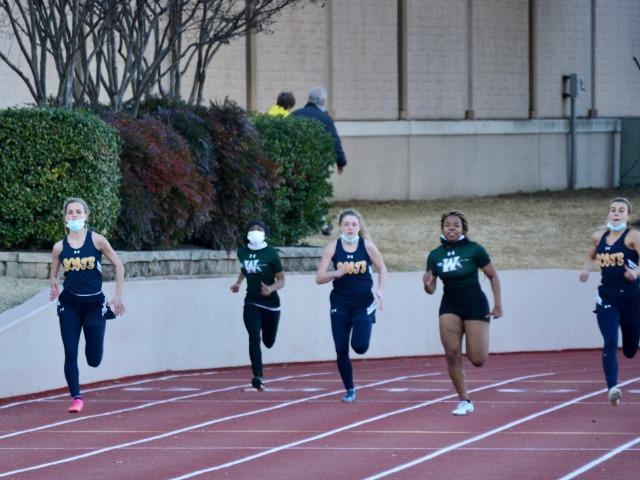 Lady Scots Track & Field Team Hosts Dual Meet vs Waxahachie