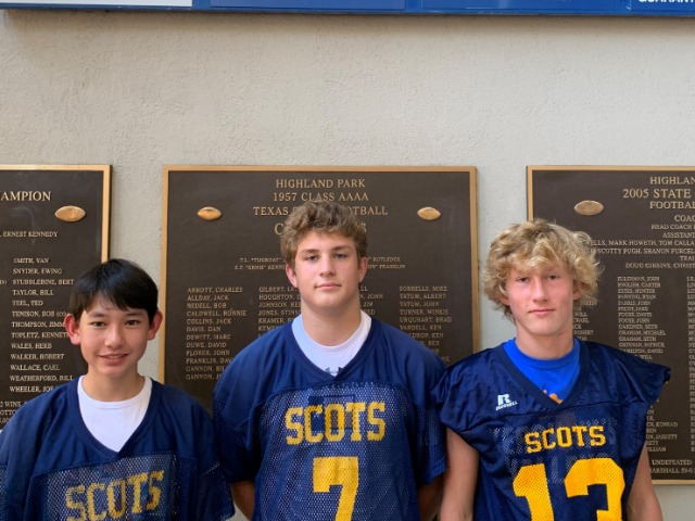 Freshmen Blue Football-55 Woodrow Wilson-0