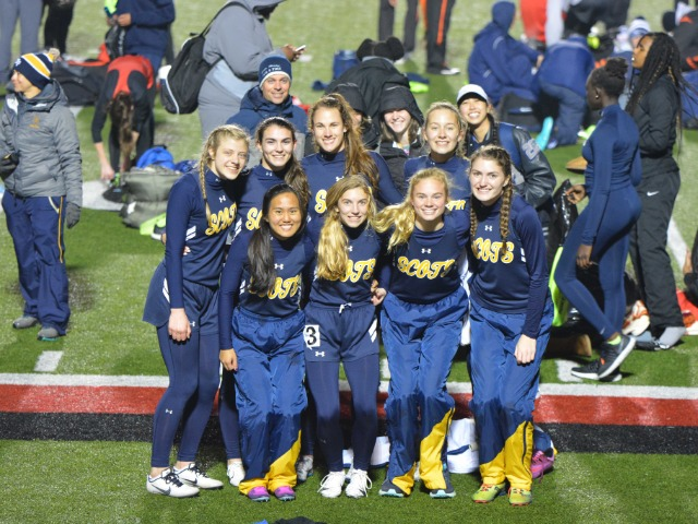 Lady Scots Track & Field Teams Compete at Coppell Relays