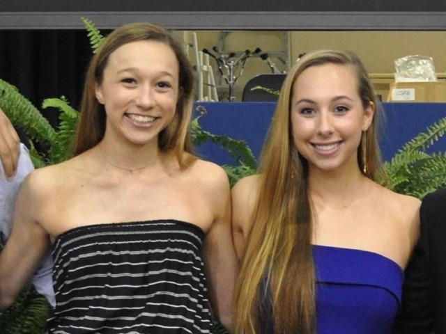 Varsity Girls Gymnastics Captains