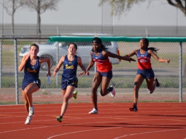 Lady Scots Track & Field Team Competes at Mustang Relays