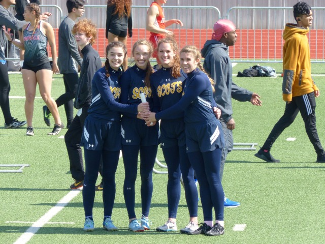Lady Scots Compete at Newman Smith Trojan Relays
