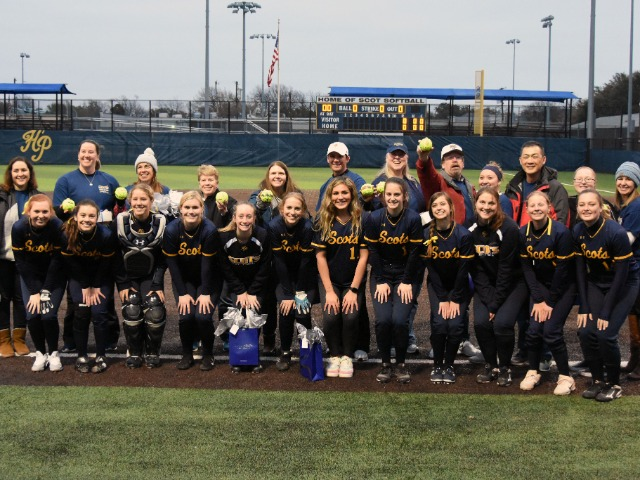 Lady Scot Softball Celebrates Teachers and Another Home Win