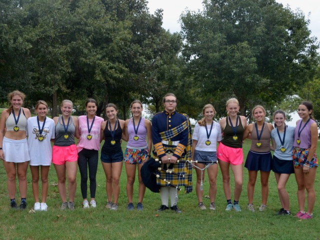 Lady Scots Cross Country Team Honors The Seniors