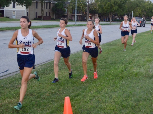 Lady Scots Cross Country Team Competes at the Birdville Invitational