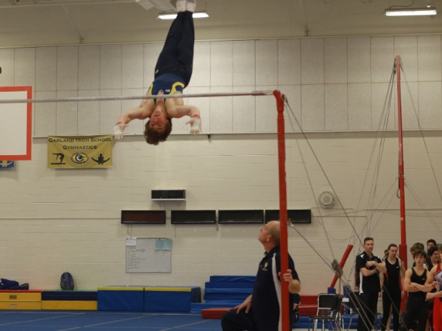 Gymnasts Beat Abilene, Rockall Heath by 20 points, 2nd to Lakeview by 2.5
