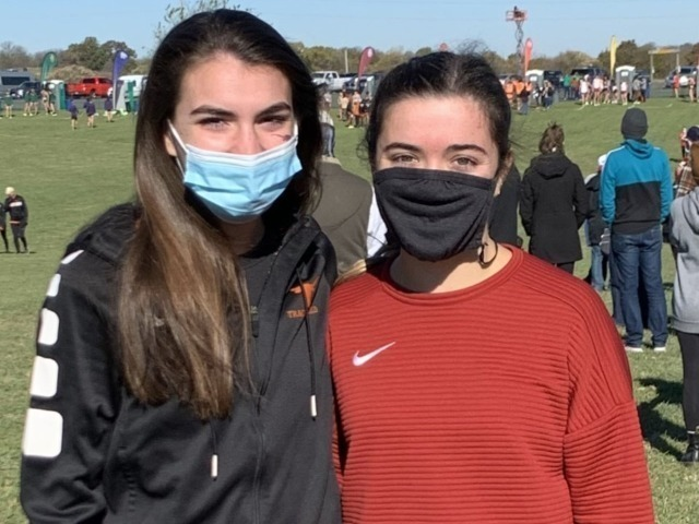 Former Lady Scots Cross Country/Track & Field Teammates Compete at Big 12 Cross Country Championship