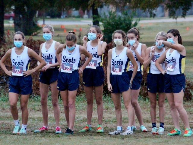Lady Scots Cross Country Team Competes at Mesquite/The Buff