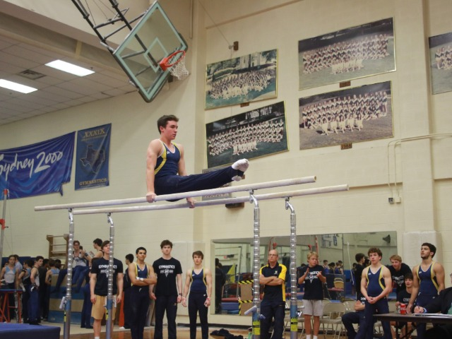 Gymnasts Win Big in Last Meet in ASF