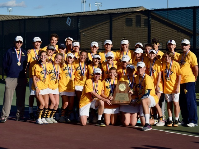 Tennis team wins record 19th state championship