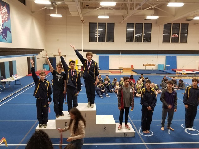 Scots Win District Championship in Gymnastics