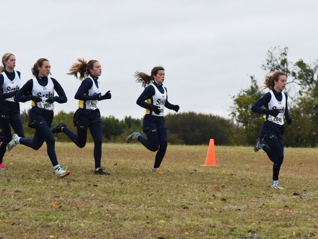Lady Scots Cross Country Team Wins District 13-5A Championship