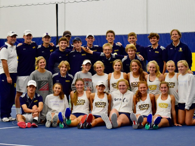 HP tennis team continues with area win