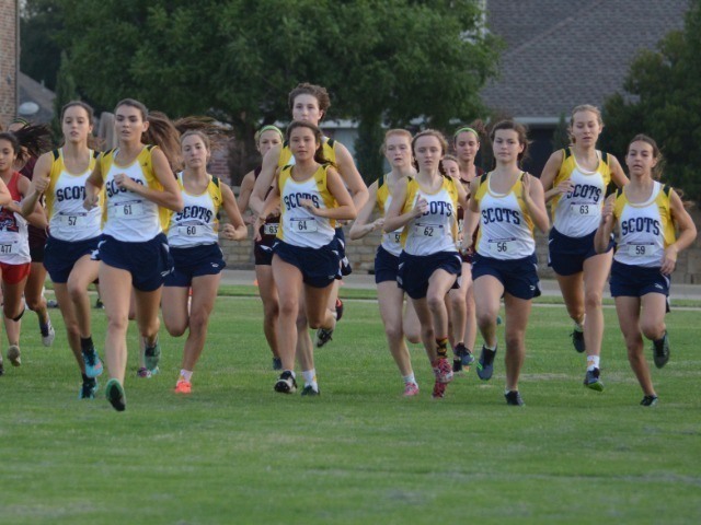 Lady Scots Cross Country Team Competes at Plano ISD Invitational