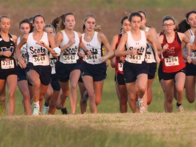 Lady Scots Cross Country Team Competes at the Coppell Invite I
