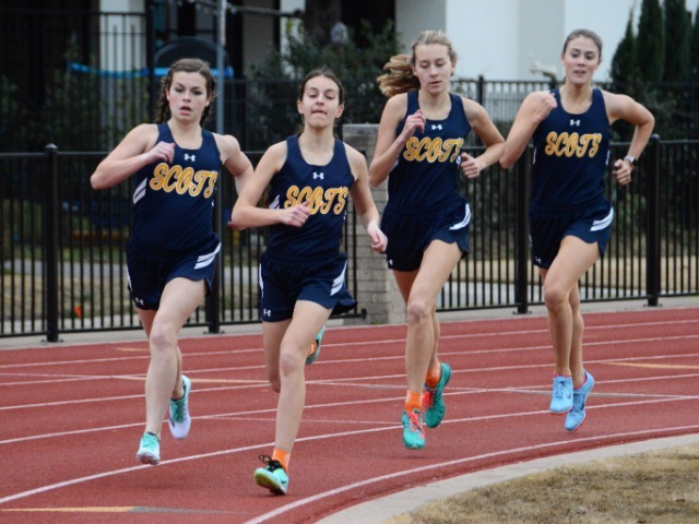 Lady Scots Host Forney in Dual Track & Field Meet