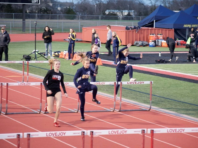 Lady Scots Track & Field Team Competes in Lovejoy and HP Tri-Meets