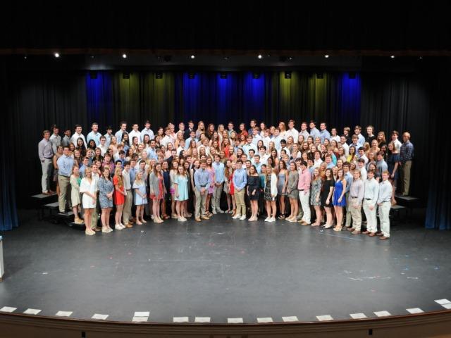 Seniors and Juniors Recognized at the Cornerstone Scholar Athlete Award Program