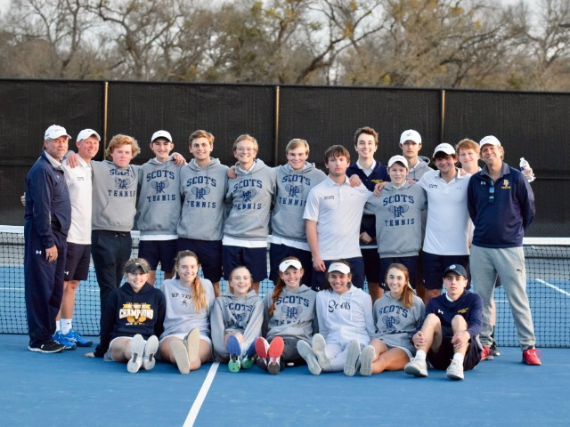 HP Tennis competes in National High School tournament
