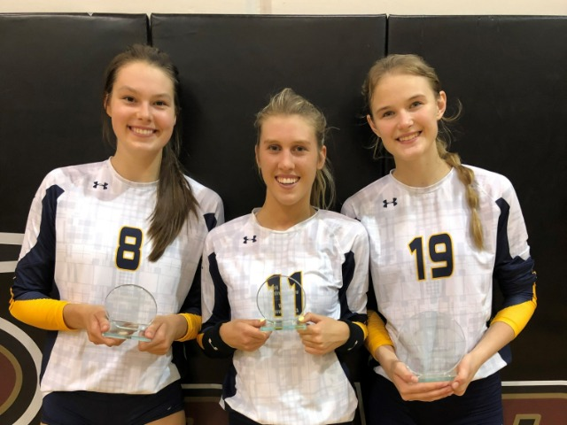 Scots All-Tournament Honors at Volleypalooza