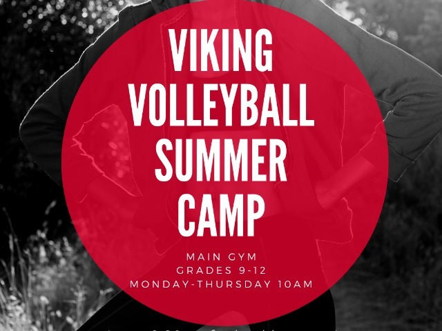 Image for article titled Viking Volleyball Camp Starts TOMORROW