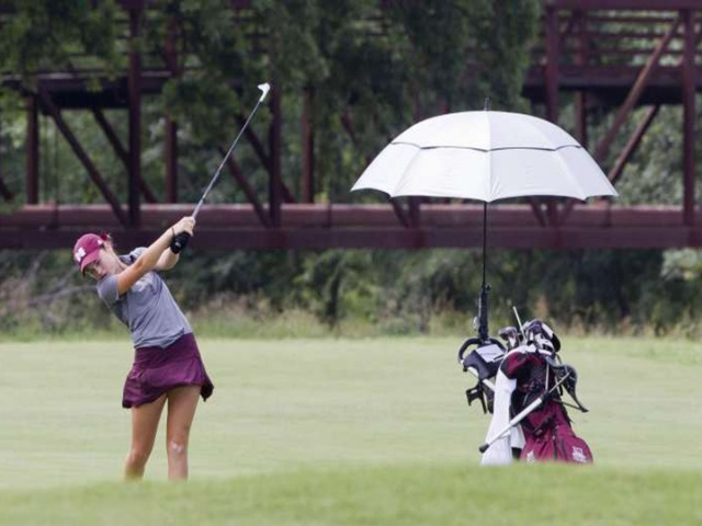 Magnolia's Halle Whitney wins second consecutive state golf title