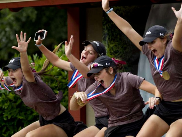 Magnolia girls golf finishes third in state