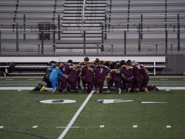 Boys Soccer Plays Katy Paetow to 1-1 Draw