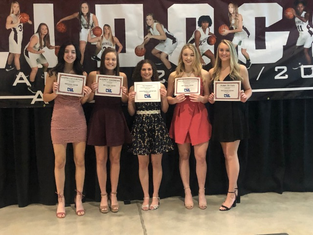 Five Lady Bulldogs Earn All District Honors