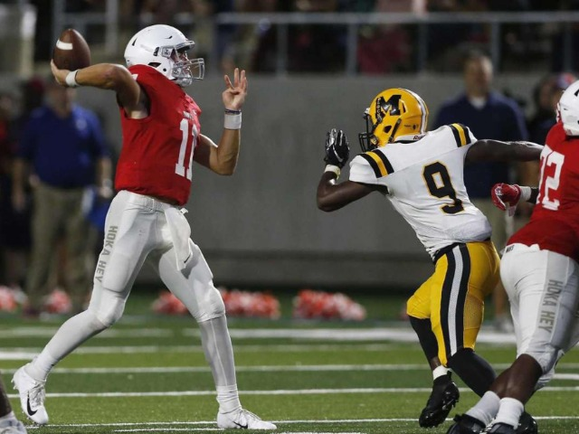 Key sack helps Manvel down Fort Bend Marshall